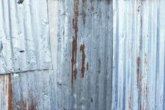 Hierro galvanizado viejo Fotografía de archivo