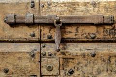 Hierro labrado del cierre viejo, artesano Imagenes de archivo