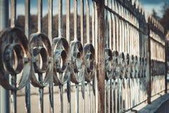 Hierro labrado Restricción de la libertad foto de archivo libre de regalías