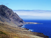 Hierro Landscape. View of Frontera Region on Hierro, Canary Islands, Spain royalty free stock image