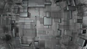 Hierro y fondo moderno de cristal Libre Illustration
