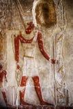 hierroglyph no templo de Hatshepsut imagens de stock royalty free