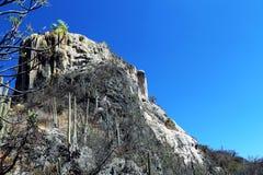 Hierve el阿瓜,瓦哈卡,墨西哥 免版税图库摄影