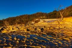 Hierve el Agua Fotografia Stock