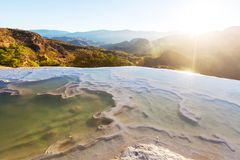 Hierve el Agua Royalty Free Stock Photography