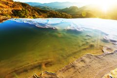 Hierve el Agua Royalty Free Stock Images