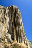 Hierve el Agua, Oaxaca, Mexico Arkivbilder