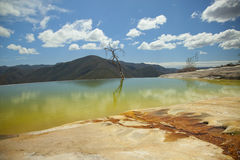 Hierve el agua in oaxaca state, mexico Stock Photography