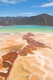 Hierve el Agua, thermal spring in Oaxaca (Mexico) Royalty Free Stock Photo