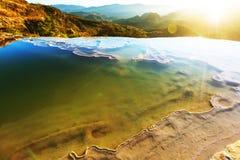 Hierve Gr Agua Stock Afbeeldingen