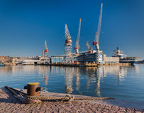 Hietalahti Shipyard Royalty Free Stock Photo