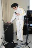 HiF&HiEnd show Moskva 2015 Elvis Presley Arkivfoton