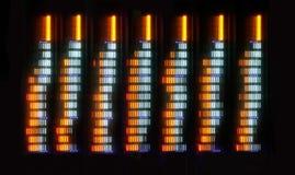 Hifi grafische Entzerrer Lizenzfreies Stockfoto