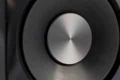 Hifi- ljudsignalt slut för högtalare upp Arkivbilder