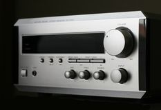 Hifi Receiver Royalty Free Stock Image