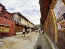 Higashi驱虫苋街道 免版税库存图片