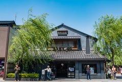 Higashi Chaya District Lizenzfreie Stockbilder