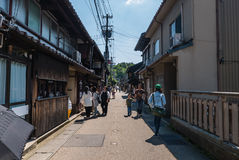 Higashi Chaya District Royalty Free Stock Photography