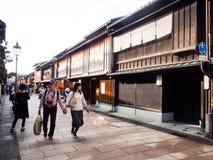 Higashi Chaya old geisha district in Kanazawa Royalty Free Stock Photography