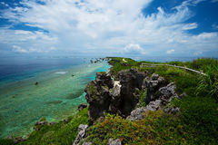 HIGASHI HENNA Cape, Okinawa Prefecture /Japan Fotografía de archivo