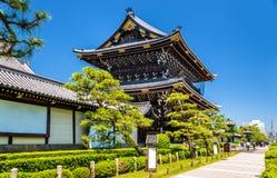 Higashi Hongan-ji, a buddhist temple in Kyoto Stock Photo