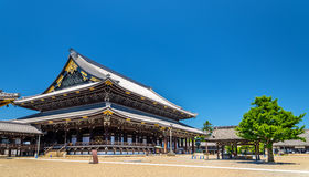 Higashi Hongan-ji, a buddhist temple in Kyoto Royalty Free Stock Photos
