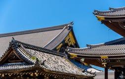 Higashi Hongan-ji, a buddhist temple in Kyoto Stock Photos