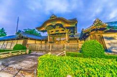 Higashi Hongan-ji, a buddhist temple in Kyoto, Japan Royalty Free Stock Photo