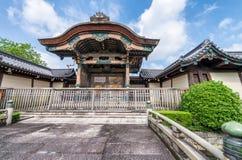 Higashi Hongan-ji, a buddhist temple in Kyoto, Japan Royalty Free Stock Photos