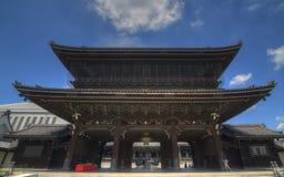 Higashi Hongan-ji em Kyoto, Japão foto de stock