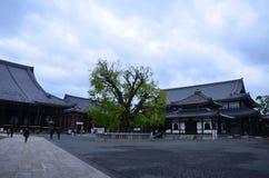 Higashi Honganji Świątynny Kyoto Japonia Obrazy Royalty Free