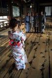 Higashi Honganji tempel fotografering för bildbyråer