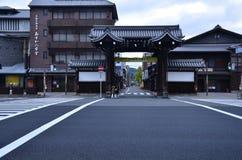 Higashi Honganji tempel Kyoto Japan arkivbilder