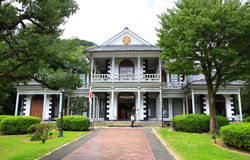 Higashi-Yamanashi District Office. Built in 1885  preserved  at Meiji Mura near Nagoya city in Japan Stock Images