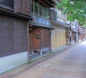 Higashiya Kanazawa Japan Royalty Free Stock Photos