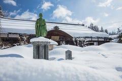 Higashiyama寺庙在高山市,日本 免版税库存照片