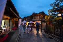 Higashiyama area, Kyoto, Japan Stock Photos