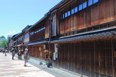 Historical old house Kanazawa Japan  Royalty Free Stock Photo