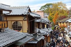 Higashiyama, Kyoto royalty free stock photo