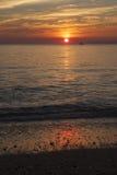 Higbee-Strand-Sonnenuntergang Lizenzfreies Stockbild