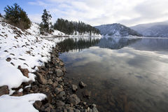 Higgens Point on Lake Coeur d'Alene Royalty Free Stock Photo