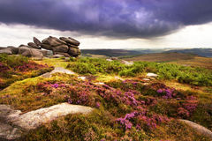 Higger Tor. View from Higger Tor Peak District Royalty Free Stock Photos