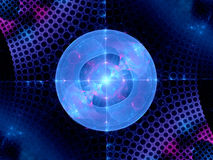 Higgs boson fractal Royalty Free Stock Photography