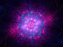Higgs boson pink Stock Photo