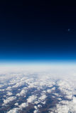 High above the clouds Royalty Free Stock Photo