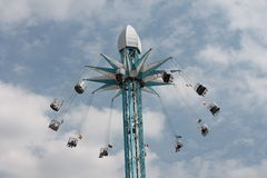 High in air fairground ride Royalty Free Stock Photography