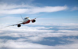 High Aircraft Royalty Free Stock Photo