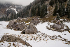 High alpine meadow Visevnik Royalty Free Stock Photo