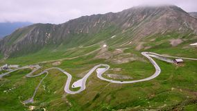 Free High Alpine Road Royalty Free Stock Photography - 43607337