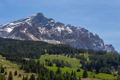 High alpine road Royalty Free Stock Photography